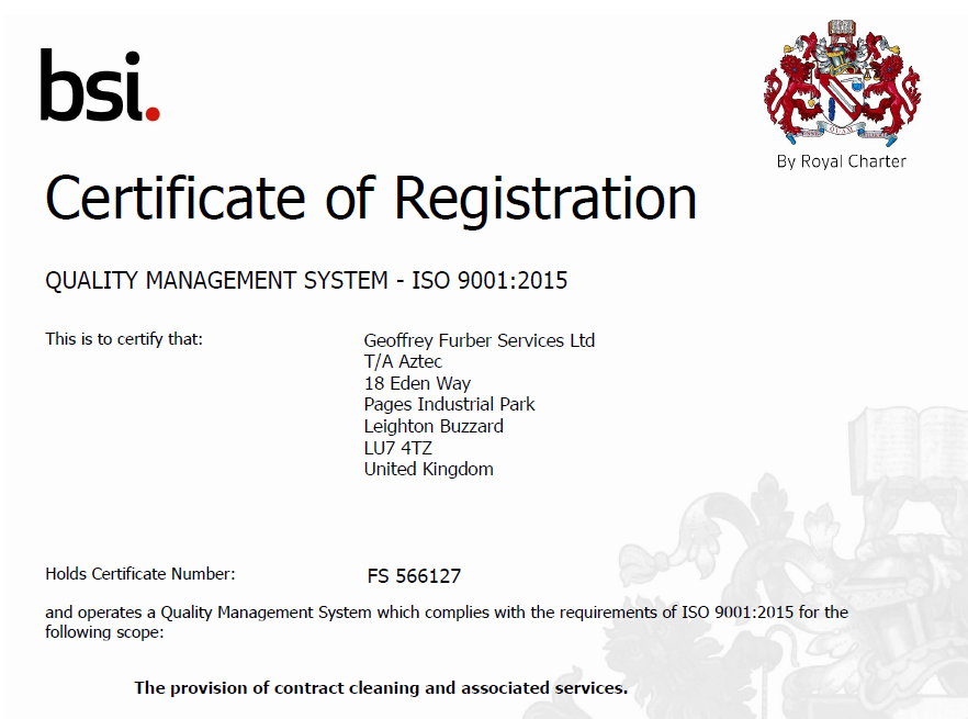 Keeping aZtec On Its Toes: ISO9001